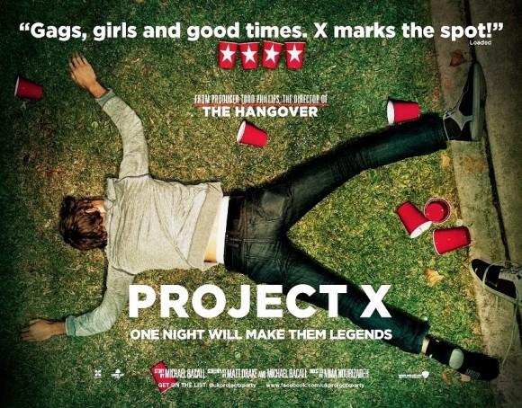 project x - peliculas de risa